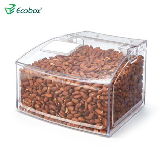 Ecobox SPH-009 Arc shape bulk food bin for supermarket food industrial