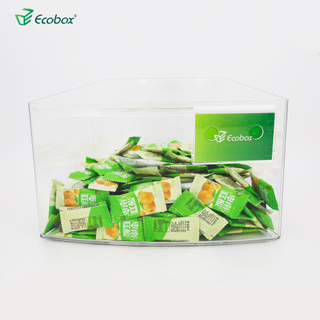Ecobox SPH-018 supermarket bulk bin for round island shelf