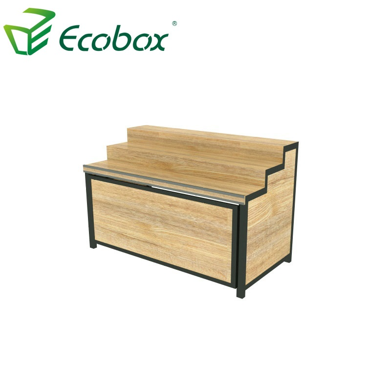 Ecobox GMG-001 Wooden supermarket bulk food shelf