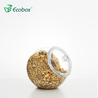 Ecobox SPH-FB300-6 airtight round candy jar